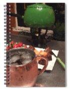 Fondue Night Spiral Notebook