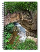 Fonferek Glen Rock Bridge And Falls Spiral Notebook