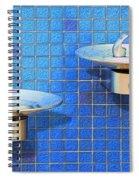 Fontaine Bleue Spiral Notebook