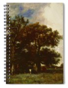 Fontainebleau Oaks 1840 Spiral Notebook