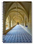 Fontevraud Abbey Cloister, Loire, France Spiral Notebook