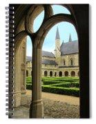 Fontevraud Abbey Spiral Notebook