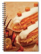 Food - Cake - Little Cakes Spiral Notebook