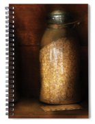 Food - Corn Yams And Oatmeal Spiral Notebook