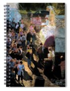 Food Alley At The Country Fair Spiral Notebook