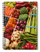Food Compartments  Spiral Notebook