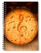 Food For Brain And Peace For Soul Spiral Notebook