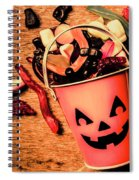 Food For The Little Halloween Spooks Spiral Notebook