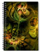 Food For Thought Spiral Notebook