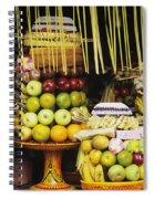 Food In Bali Spiral Notebook