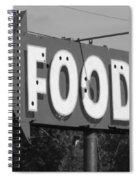 Food Spiral Notebook