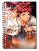 Food Wars Shokugeki No Soma Spiral Notebook