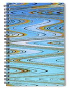 Foot Bridge Abstract Spiral Notebook