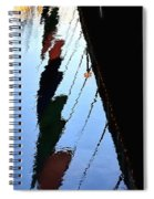 Foot Bridge Reflections 487 Spiral Notebook