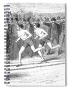 Foot Race, 1868 Spiral Notebook