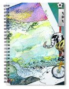 Football Derby Rams On Holidays In The Mountains Spiral Notebook