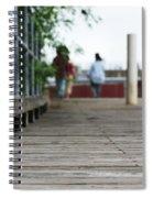 Footbridge Spiral Notebook