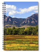 Foothills Of Colorado Spiral Notebook