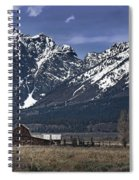Foothills Of The Tetons Spiral Notebook