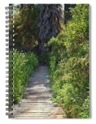 Footpath In Peters Canyon I Spiral Notebook