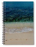 Footsteps Spiral Notebook