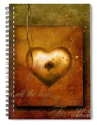 For All The Love Spiral Notebook