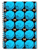 For Every Blue Rose There Is A Butterfly Spiral Notebook