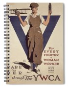 For Every Fighter A Woman Worker Spiral Notebook