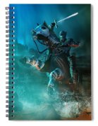 For King And Country Spiral Notebook