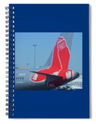 For Red Soxs Fans Spiral Notebook