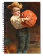 For Thanksgiving Day Spiral Notebook