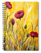 For The Love Of Poppies Spiral Notebook