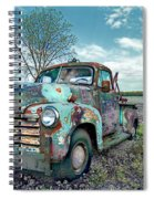 For Whom The Truck Tows Spiral Notebook