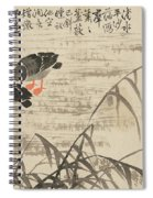 Foraging In The Wild Goose River Spiral Notebook
