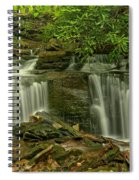 Forbes State Forest Twin Falls Spiral Notebook