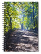 Forbidden Drive - Philadelphia Spiral Notebook
