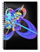 Force Fields Spiral Notebook