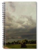 Forces Of Nebraska Nature 037 Spiral Notebook