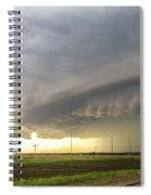Forces Of Nebraska Nature 043 Spiral Notebook