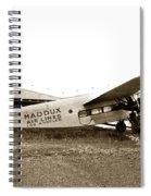 Ford 4-at-a Maddux Air Lines Los Angeles Circa 1928 Spiral Notebook