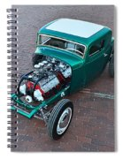 Ford 5-window Coupe Spiral Notebook