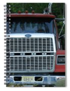 Ford 9000 Power And Confort... Spiral Notebook