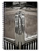 Ford Chrome Grille Spiral Notebook