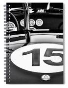 Ford Cobra Spiral Notebook