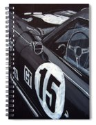 Ford Cobra Racing Coupe Spiral Notebook