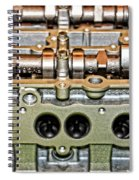 Ford Ecoboost Cylinder Head Spiral Notebook