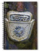 Ford Emblem Spiral Notebook