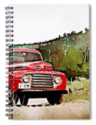Ford F-1 Spiral Notebook