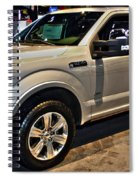 Ford F150 Fx4 Platinum Spiral Notebook