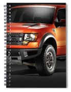 Ford F150 Svt Raptor Spiral Notebook